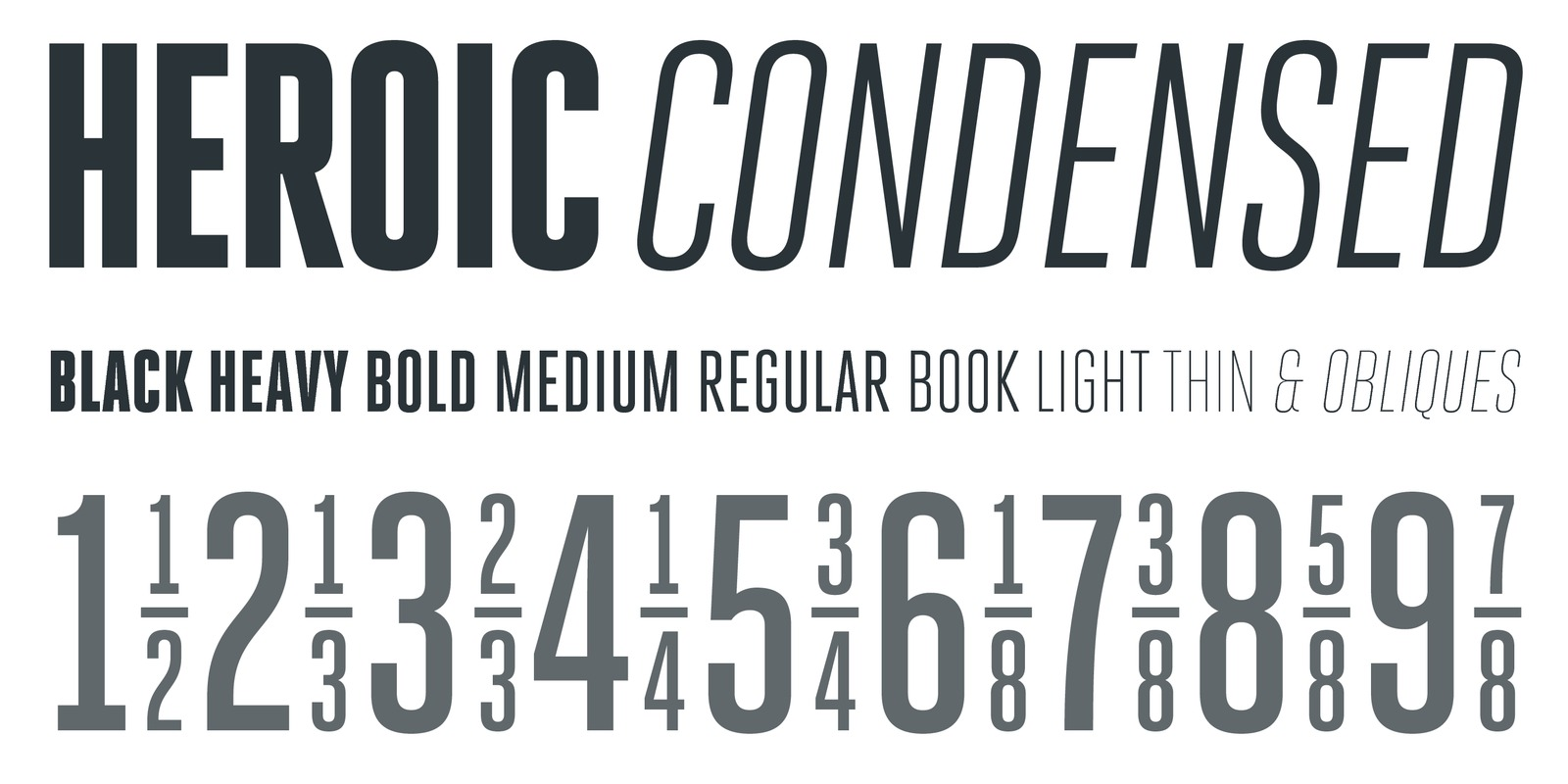 Heroic Condensed by Silas Dilworth - TypeTrust